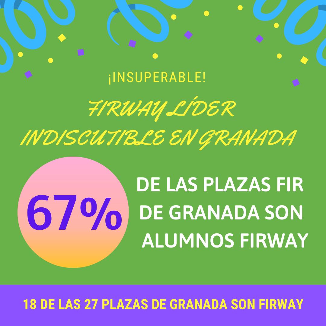 67% DE LAS PLAZAS FIR DE GRANADA SON FIRWAY